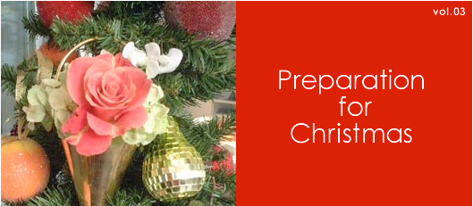 Preparation for Christmas